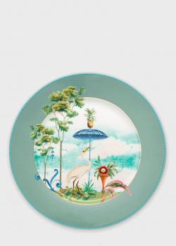 Подстановочная тарелка Pip Studio Jolie Blue 32см, фото
