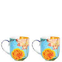 Набор чашек Pip Studio Royal Flowers из 2 штук, фото