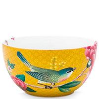 Пиала Pip Studio Blushing Birds желтого цвета 12см, фото