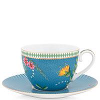 Чашка с блюдцем Pip Studio La Majorelle Blue, фото