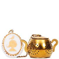 Медальон для заварки чая Pip Studio Royal White, фото