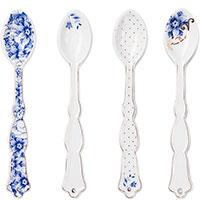 Набор ложек для чая Pip Studio Royal White из 4 предметов, фото