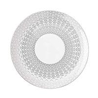 Обеденная Тарелка Porcel Pantheon белого цвета, фото