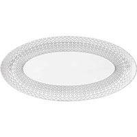 Блюдо Porcel Pantheon белого цвета, фото