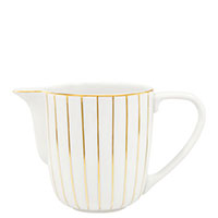 Молочник Porcel Golden Orbit с орнаментом золотистого цвета, фото