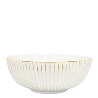 Салатник Porcel Golden Orbit с орнаментом золотистого цвета, фото