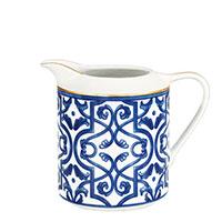 Молочник Porcel Blue Legacy с орнаментом синего цвета, фото