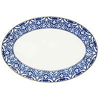 Блюдо Porcel Blue Legacy диаметром 39 см, фото