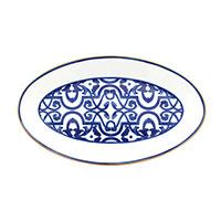 Блюдо Porcel Blue Legacy овальной формы, фото