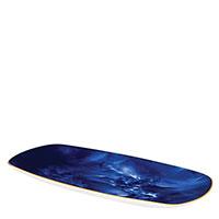 Блюдо Porcel Adamastor синего цвета, фото