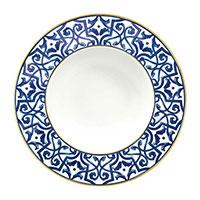 Тарелка Porcel Blue Legacy из фарфора, фото