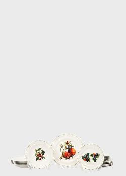 Столовый сервиз Brandani Le Primizie из 18 предметов, фото