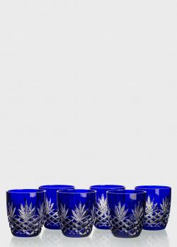 Набор хрустальных бокалов Faberge Odessa для виски 6шт, фото