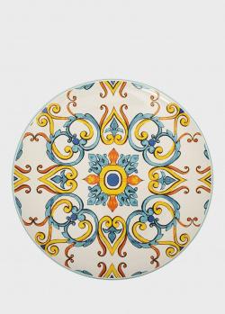 Блюдо круглое Brandani Medicea из высокопрочной керамики 31,5см, фото