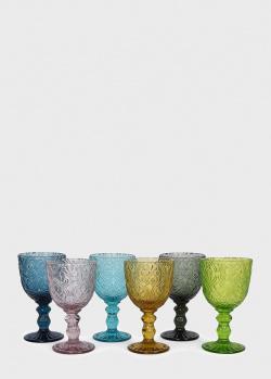 Набор разноцветных бокалов Maison Corinto 6 шт 300 мл, фото