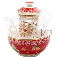Заварник и чашка для чая Palais Royal Вкус праздников, фото