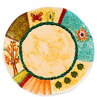 Обеденная тарелка Palais Royal Spring, фото