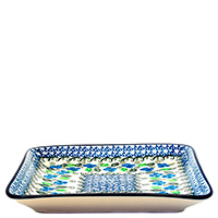 Блюдо Ceramika Artystyczna Вербена квадратное, фото