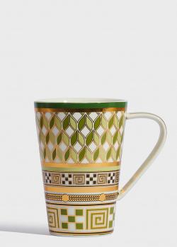 Зеленая чашка Baci Milano 5th Avenue 12,5см, фото