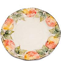 Тарелка обеденная Bizzirri Персики, фото