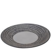 Тарелка Revol Arborescence серого цвета 28см, фото