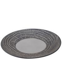 Тарелка Revol Arborescence серого цвета 26,5см, фото