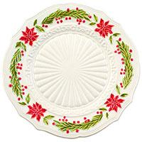 Керамическая тарелка Bordallo Pinheiro Рождество, фото