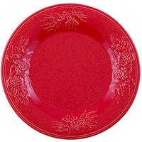 Тарелка обеденная Bordallo Pinheiro Зима, фото
