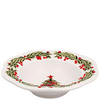Керамический салатник Bordallo Pinheiro Рождество, фото