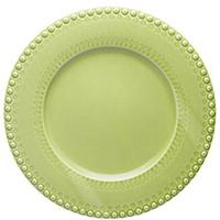Светло-зеленое блюдо Bordallo Pinheiro Фантазия, фото