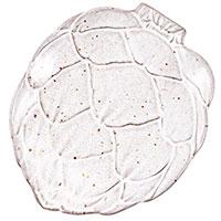 Белая тарелка для хлеба Bordallo Pinheiro Артишок 17см, фото