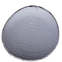 Тарелка Steelite Scape Glass Smoked 25см, фото