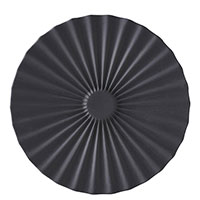 Блюдце Revol Pekoe 14см черного цвета, фото
