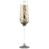 Бокал Goebel для шампанского с орнаментом 26см, фото