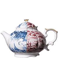 Чайник Seletti Hybrid Smeraldina с изображением корабля, фото