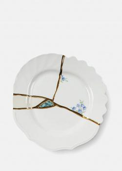 Десертная тарелка Seletti Kintsugi n'3 диаметром 21 см, фото