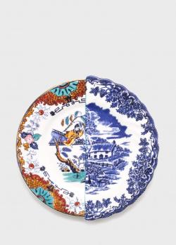Фарфоровая тарелка Seletti Hybrid Valrada диаметром 20 см, фото