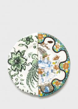 Фарфоровая тарелка Seletti Hybrid Zoe диаметром 20 см, фото