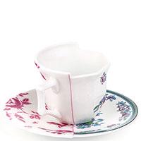 Чашка с блюдцем Seletti Hybrid Leonia, фото