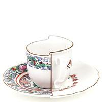 Чашка с блюдцем Seletti Hybrid Tamara, фото