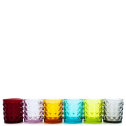 Набор стопок Livellara Tiffany разных цветов, фото