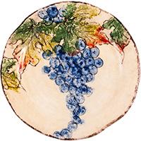 Тарелка десертная Bizzirri Виноград, фото