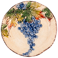Набор десертных тарелок Bizzirri Виноград, фото