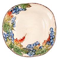 Тарелка для супа Bizzirri Виноград 20см, фото