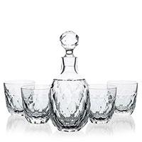 Набор для виски Faberge Arlekin штоф и 4 стакана, фото