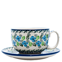 Чашка с блюдцем Ceramika Artystyczna Вербена, фото