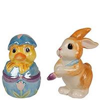 Набор для специй Fitz and Floyd Утенок и Кролик, фото