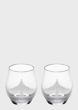 Хрустальные стопки Lalique 100 Points 2шт, фото