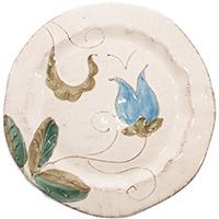 Десертная тарелка Bizzirri Portofino с ручной росписью, фото