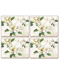Сервировочные коврики Cala Home Magnolia 4шт, фото